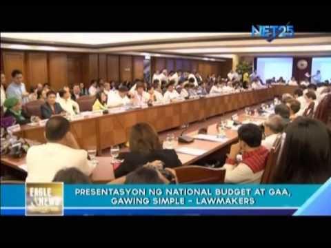 Lawmakers ask for simpler budget presentation