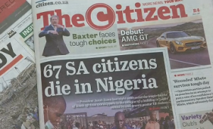 At least 67 South Africans dead and many more unaccounted for after last weeks church collapse in Nigeria confirms South African President Jacob Zuma. (Photograb from Reuters video)