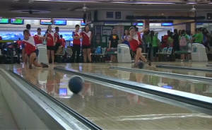 Filipino ten-bowling bowling and taekwondo competitors are on their last leg of training as they aim for gold at the upcoming Asian Games in South Korea. (Photo grabbed from Reuters video)