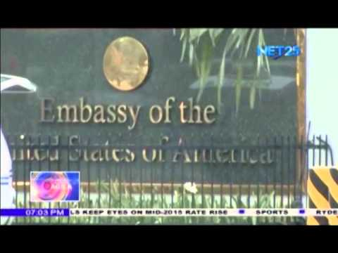 US embassy in Manila, affiliated offices closed on Monday, Feb. 17