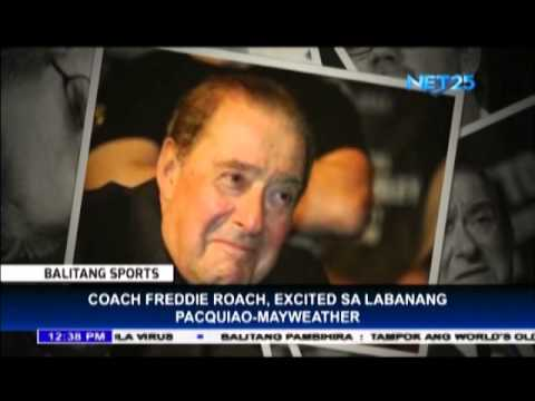 Roach shares excitement regarding Pacquiao Mayweather fight