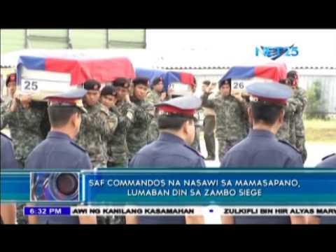 SAF Commandos were also involved in Zamboanga Siege