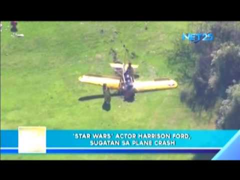 Harrison Ford suffers injuries as plane crash