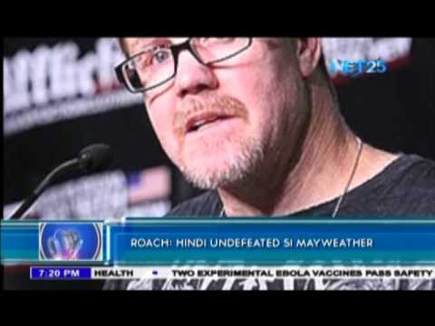 Roach says Mayweather, not undefeated