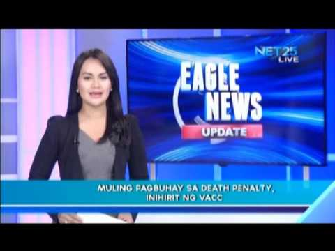 VACC proposed return of death penalty
