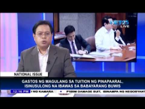 Senate proposes tuition fee as income tax exemptions