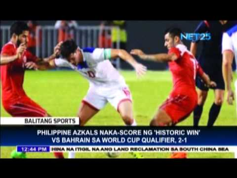 Philippine Azkals win over Bahrain in World Cup qualifier