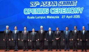 File photo of leaders attending the 26th ASEAN Summit in Kuala Lumpur, Malaysia.