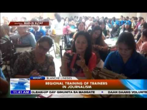 Regional Training of Trainers in Journalism
