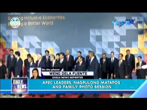 APEC leaders join in on family photo