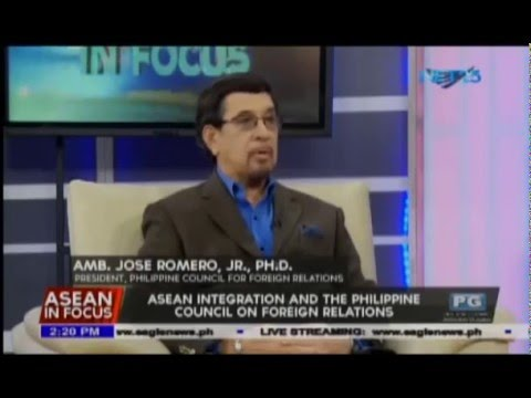ASEAN Integration and the PHL Council on foreign relations