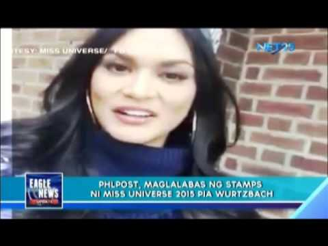 PhilPost to release Miss Universe Pia Wurtzbach's stamp