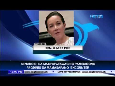 Senate will no longer call new Mamasapano hearing