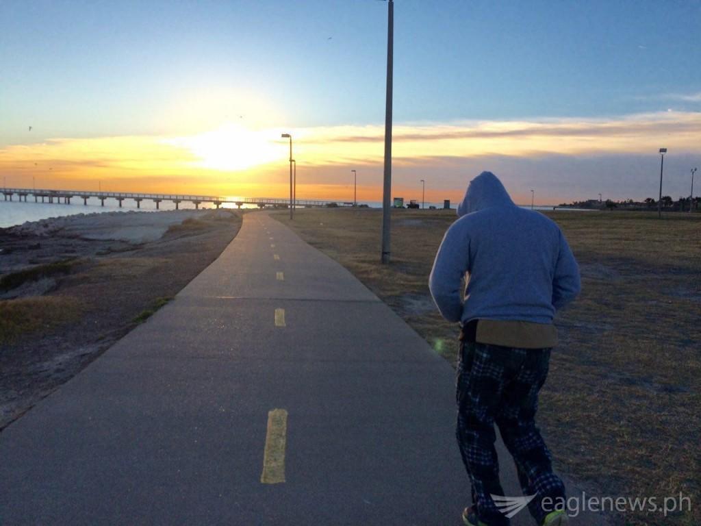 Sunrise in Corpus Christi, TX (by Ross Tison)