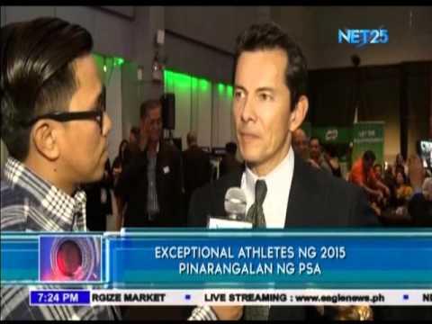Exceptional Athletes ng 2015, pinarangalan ng PSA