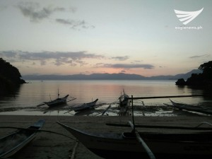 Sunset in Alad, Romblon by Eric Cillan (Eagle News Service)