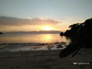 Alad Island at sunset