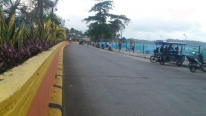 Road along Baybay boulevard in Borongan City by Michael Agustin. (Eagle News Service)