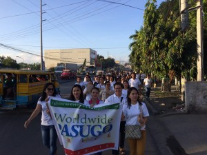 Iglesia Ni Cristo actively participated in the Pasugo drive not only here in the country, but outside the Philippines as well. (Eagle News Service)