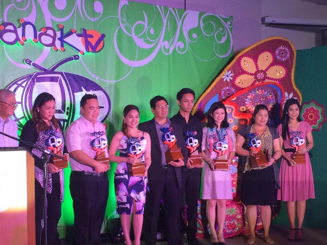 NET 25 and INC TV garner Anak TV awards