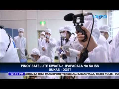 Philippines sends satellite to ISS