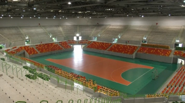 Olympic authorities say they are confident in the progress of the Olympic Park just four months before the start of the Games.(photo grabbed from Reuters video)