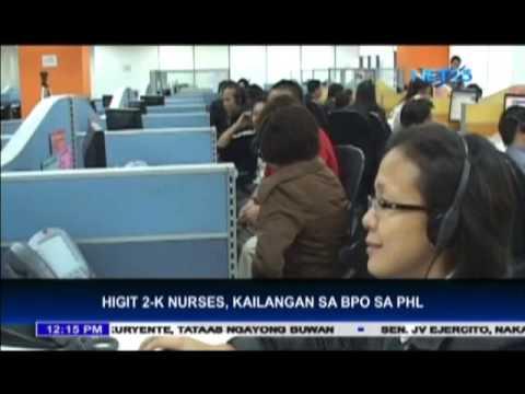 Philippines needs nurses for BPO
