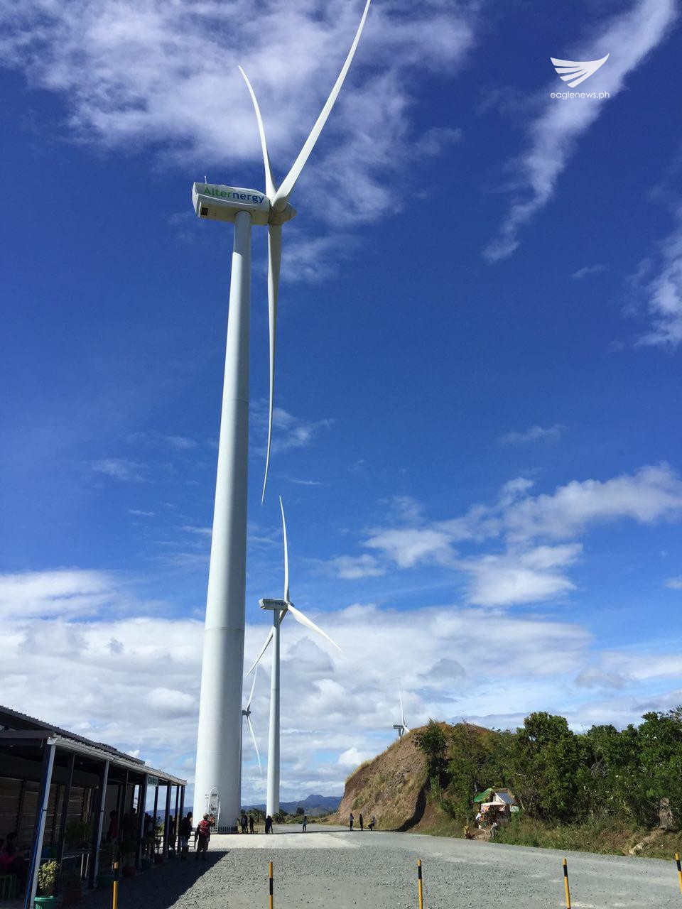 Windmills in Pililla, Rizal. (Photo contributed by Rolando Inciong)