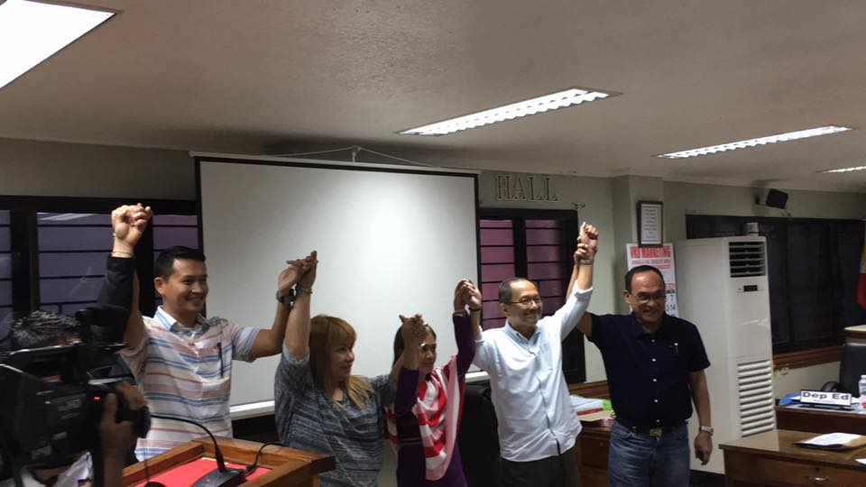 Magkapatid, panalong Mayor at Vice Mayor sa Cotabato City