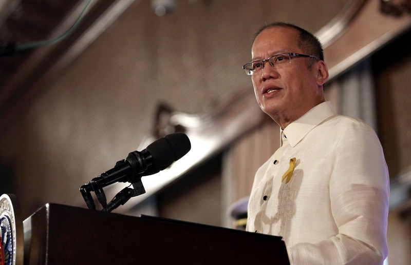 (File Photo:  President Aquino)