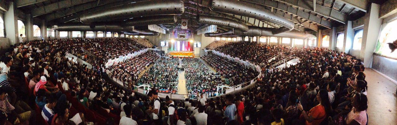 Panoramic View ng Lingap sa Mamayan ng INC sa Quezon Convention Center