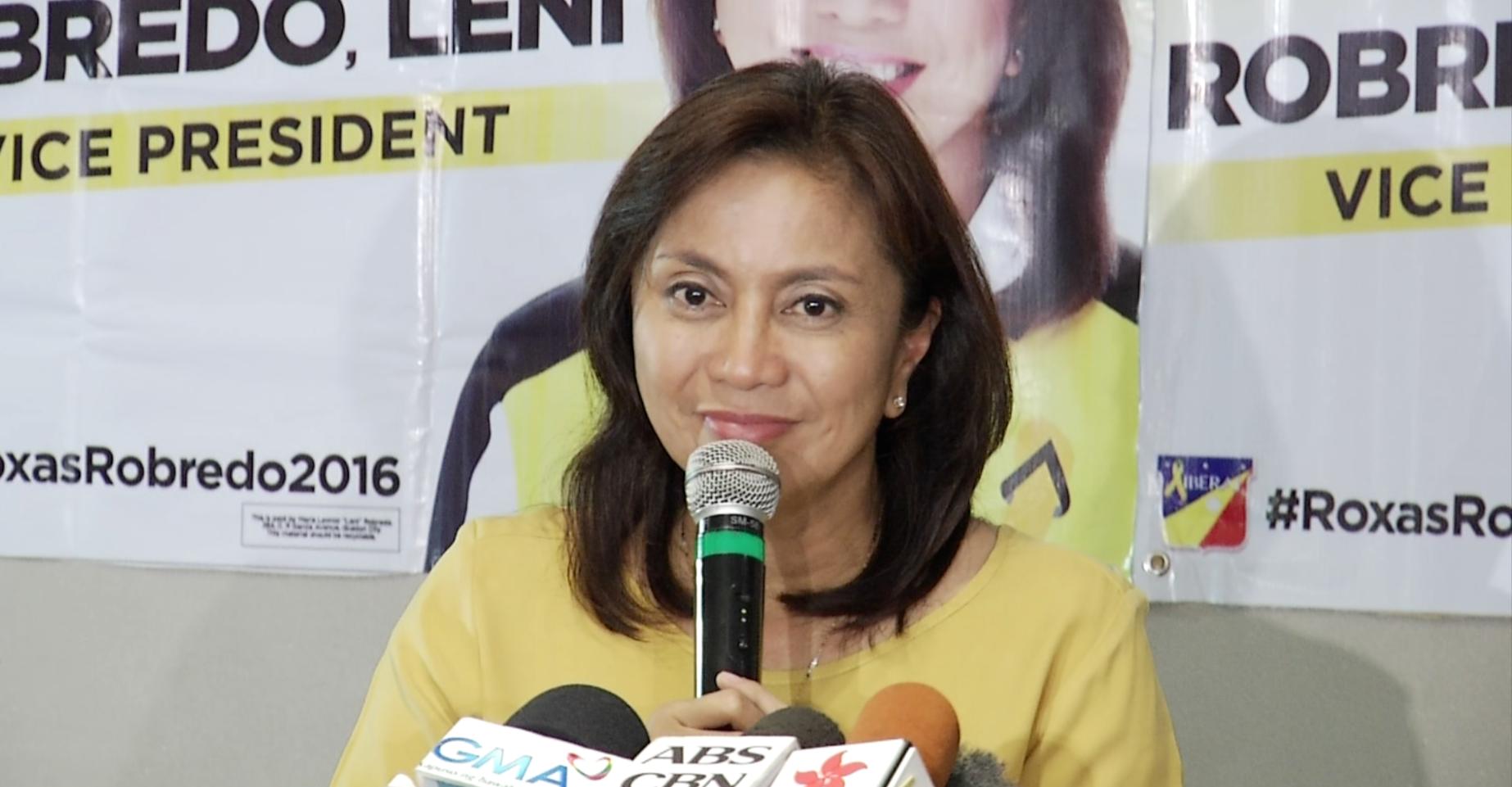 "Sara Duterte tells Robredo not to ""retreat behind"" VP camp to answer honesty tirades vs her"
