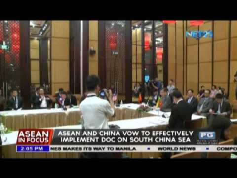 ASEAN and China vow to effectively implement DOC on South China Sea