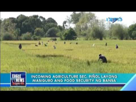 Incoming Agriculture Secretary targets food security