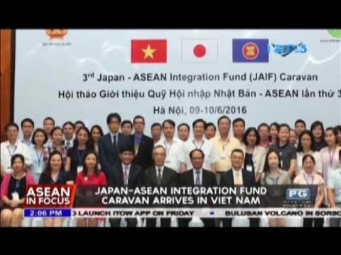 Japan-ASEAN Integration Fund caravan arrives in Vietnam