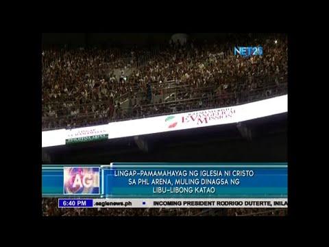 Lingap-Pamamahayag ng INC sa PHL Arena, muling dinagsa ng libu-libong katao