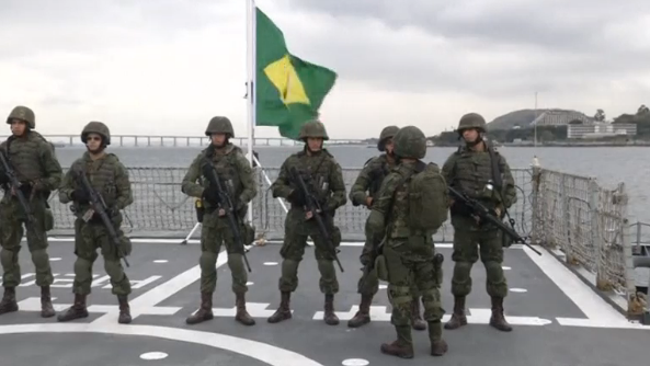 Rio de Janeiro mayor, Eduardo Paes, says the arrest of 10 people suspected of planning a terrorist attack during the Olympic Games shows Brazil's security forces were working effectively.(photo grabbed from Reuters video)
