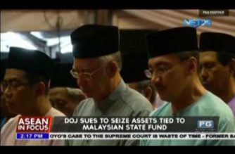 DOJ sues to seize assets tied to Malaysian state fund