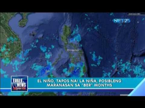 Opisyal nang natapos ang El Niño phenomenon sa bansa