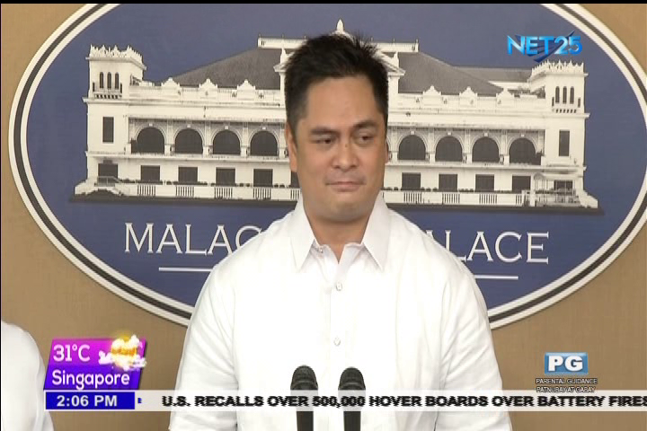 File photo of Presidential Communications Office (PCO) Secretary Martin Andanar