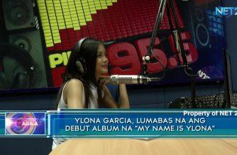 "Ylona Garcia,  lumabas na ang debut album na ""My Name is Ylona"""