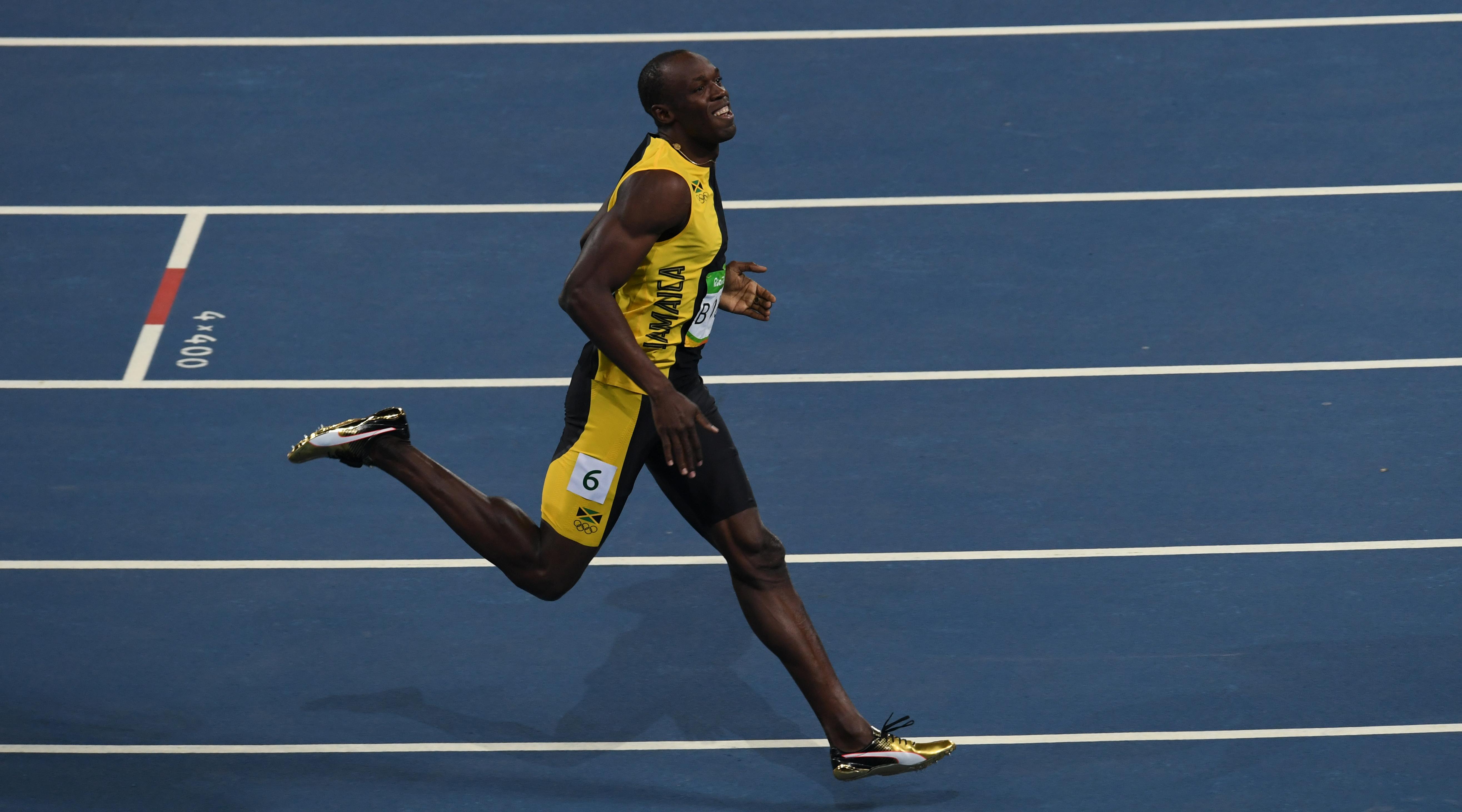 Olympics: 'Lightning' strikes thrice as Bolt completes ...