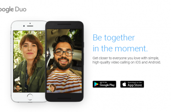 A screen grab from Google Duo website (courtesy duo.google.com)