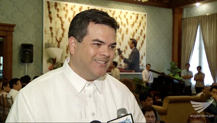Majority Leader of Guam's 33rd Legislature, Senator Rory Respicio, visits the INC Central Office to make a courtesy call to INC Executive Minister Brother Eduardo V. Manalo. (Eagle News Service)