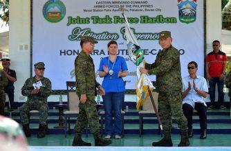 Mayor Sara, pinuri ang activation ng Task Force Haribon para sa seguridad ng Davao
