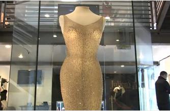 "Marilyn Monroe's ""Happy Birthday Mr. President"" dress for sale"