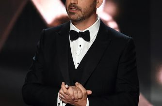 LOS ANGELES, CA - SEPTEMBER 18: Host Jimmy Kimmel speaks onstage during the 68th Annual Primetime Emmy Awards at Microsoft Theater on September 18, 2016 in Los Angeles, California.   Kevin Winter/Getty Images/AFP