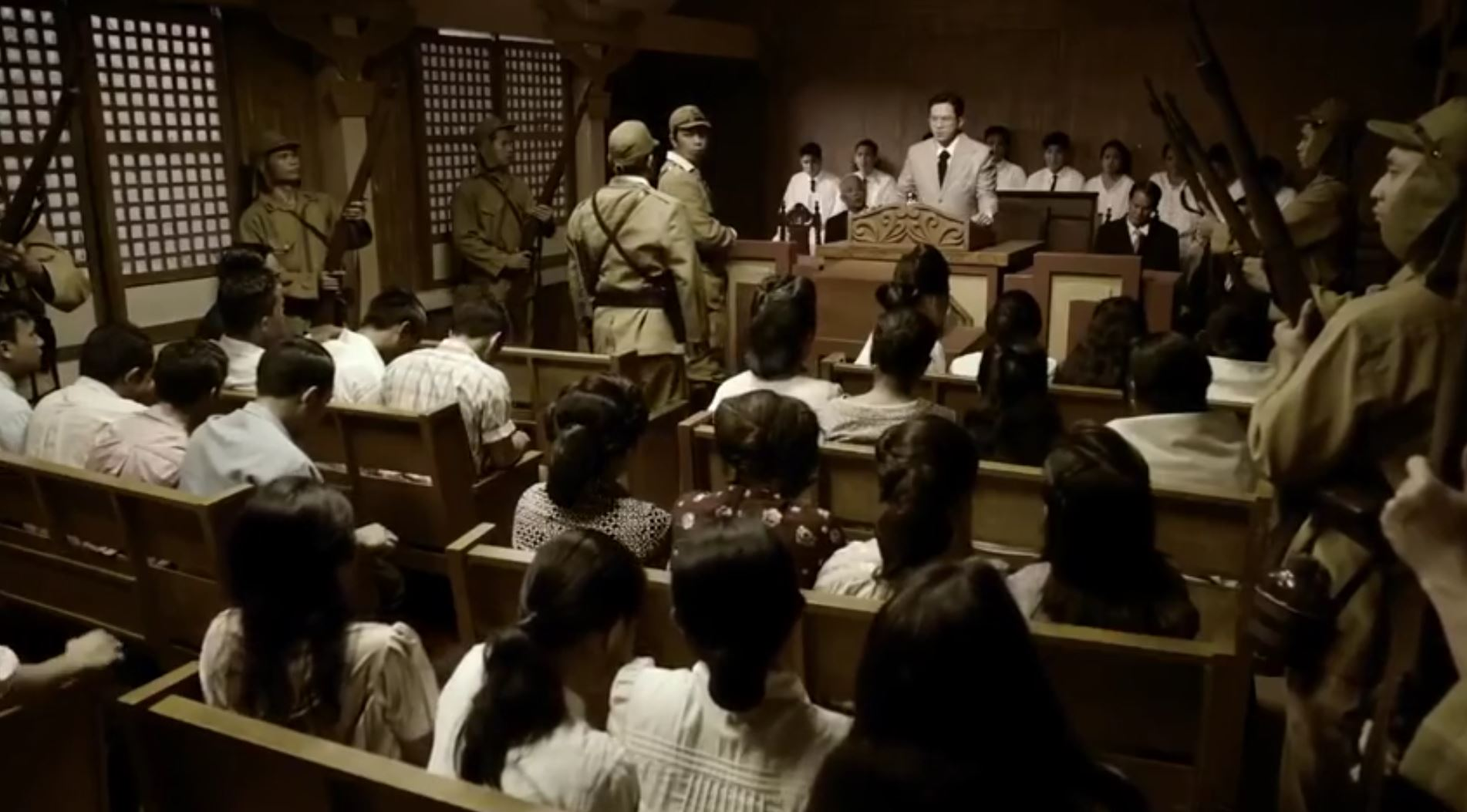 "A photo grabbed from the Iglesia Ni Cristo's historical biographical film, ""Felix Manalo"" produced by Viva Films. (Eagle News Service)"