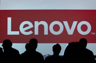 (FILES) This file photo taken on May 21, 2015 shows the Lenovo's brand logo displayed on a screen before a press conference in Hong Kong. Chinese tech giant Lenovo announced on January 3, 2017 it was launching a smart home assistant powered by Amazon's Alexa, becoming the latest firm to enter the market for voice-activated devices.The new Smart Assistant, to go on sale for $129, will compete with Amazon's Echo speakers using the artificial intelligence developed by Amazon.  / AFP PHOTO / PHILIPPE LOPEZ