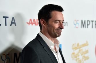 "LOS ANGELES, CA - OCTOBER 01: Actor Hugh Jackman attends the MPTF 95th anniversary celebration with ""Hollywood's Night Under The Stars"" at MPTF Wasserman Campus on October 1, 2016 in Los Angeles, California.   Alberto E. Rodriguez/Getty Images for MPTF/AFP"